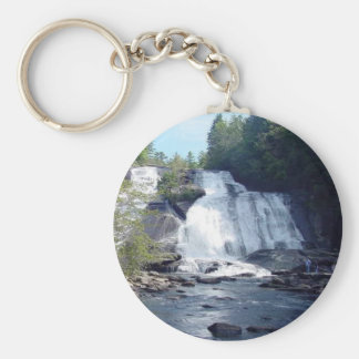 North Carolina Waterfall Keychain