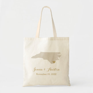 North Carolina Wedding Welcome Bag