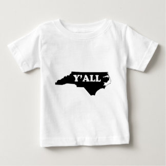 North Carolina Yall Baby T-Shirt