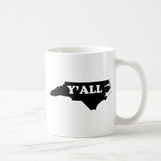 North Carolina Yall Coffee Mug