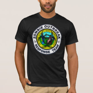 North Carolina Zombie Outbreak Response Team T-Shirt