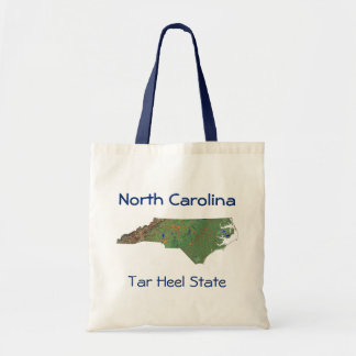North Carolinian Map Bag