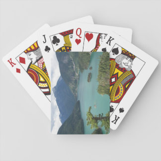 North Cascades Diablo Lake Photo Playing Cards