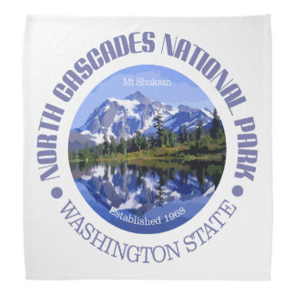 North Cascades National Park Bandana