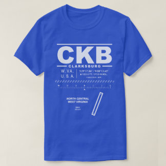 North Central West Virginia Airport CKB T-Shirt
