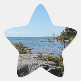 North Channel Beauty Star Sticker