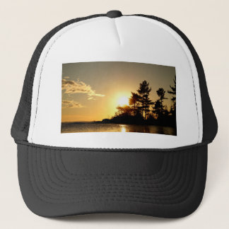 North Channel Sunset Trucker Hat