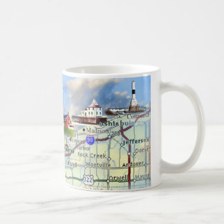 North Coast Lights Coffee Mug