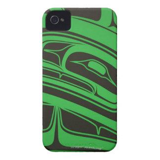 North Coast Native Design IPhone 4 RARE GREEN iPhone 4 Case-Mate Case