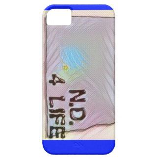 """North Dakota 4 Life"" State Map Pride Design iPhone 5 Cover"