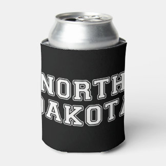 North Dakota Can Cooler