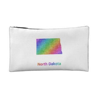 North Dakota Cosmetic Bag