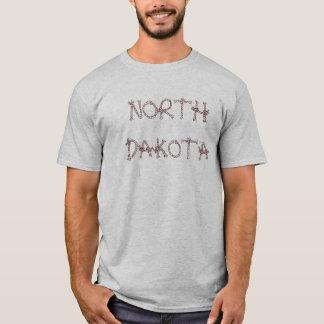 North Dakota Cowboy Rope T-Shirt