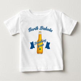 North Dakota Drinking team Baby T-Shirt