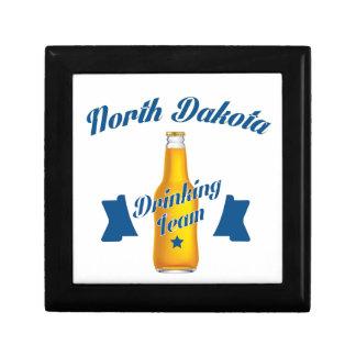 North Dakota Drinking team Keepsake Boxes