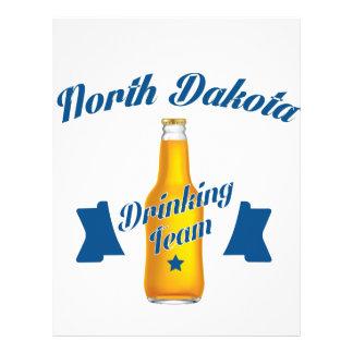 North Dakota Drinking team Letterhead