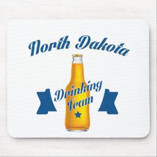 North Dakota Drinking team Mouse Pad