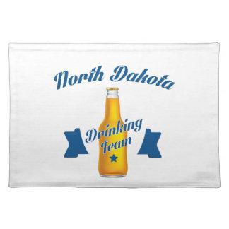 North Dakota Drinking team Placemat
