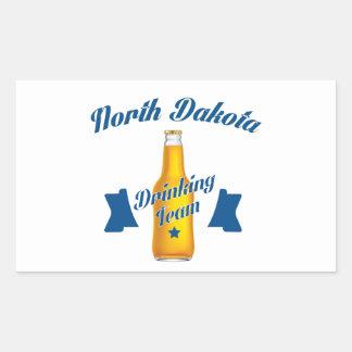 North Dakota Drinking team Sticker