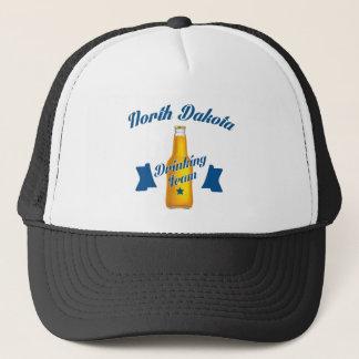 North Dakota Drinking team Trucker Hat