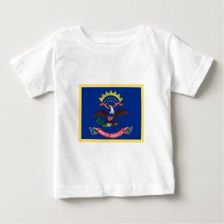 North Dakota Flag Baby T-Shirt