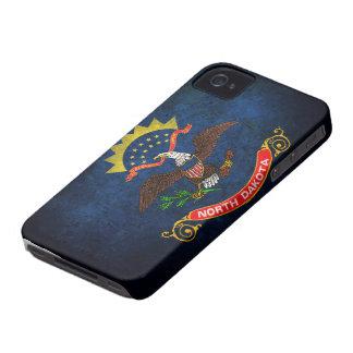 North Dakota Flag iPhone 4 Case-Mate Cases