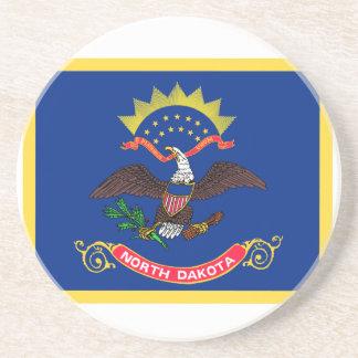 North Dakota Flag Coasters