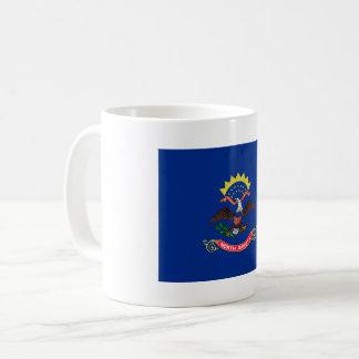 North Dakota Flag Coffee Mug
