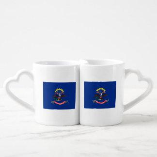 North Dakota Flag Coffee Mug Set