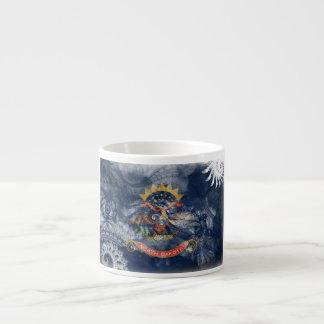North Dakota Flag Espresso Mug