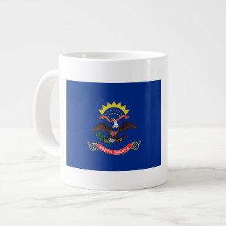 North Dakota Flag Large Coffee Mug