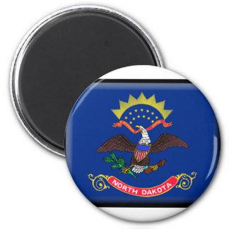 North Dakota Flag Magnets