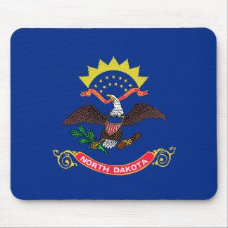 North Dakota Flag Mouse Pad