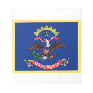 North Dakota Flag Notepad