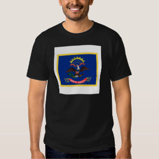 North Dakota Flag Shirts