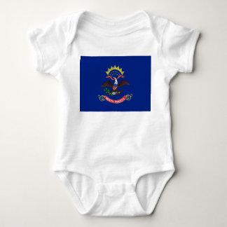 North Dakota Flag T-shirts