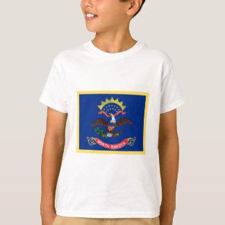 North Dakota Flag Tee Shirt
