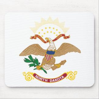 North Dakota Flag Theme 00 Mouse Pad
