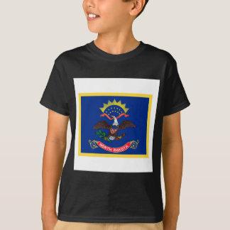 North Dakota Flag Tshirts