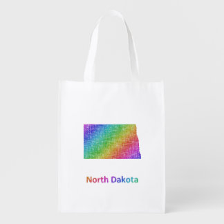 North Dakota Grocery Bag