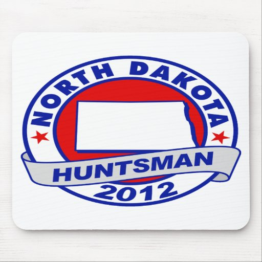 North Dakota Jon Huntsman Mouse Pad