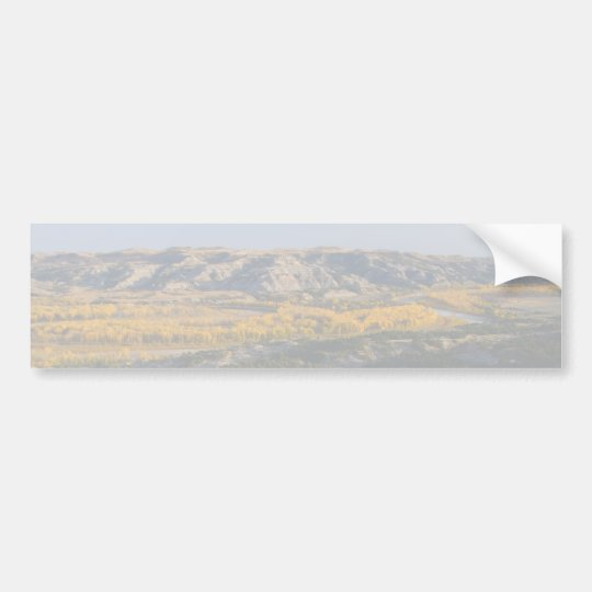 North Dakota Landscape Bumper Sticker