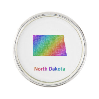 North Dakota Lapel Pin