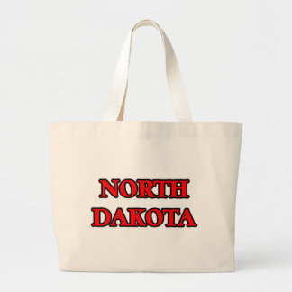 North Dakota Large Tote Bag