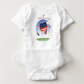 north dakota loud and proud, tony fernandes baby bodysuit