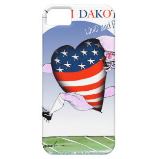 north dakota loud and proud, tony fernandes iPhone 5 case