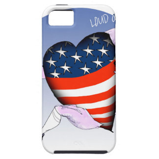 north dakota loud and proud, tony fernandes iPhone 5 cover