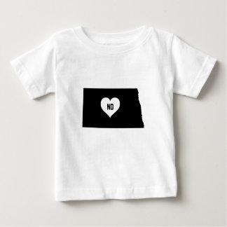 North Dakota Love Baby T-Shirt