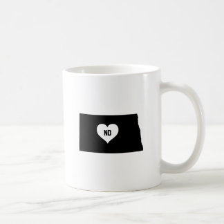 North Dakota Love Coffee Mug