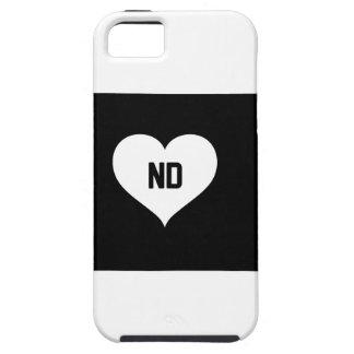 North Dakota Love iPhone 5 Cover